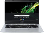 Notebook Chromebook 14 (CB314-1H-C1WK) Chrome OS Silber